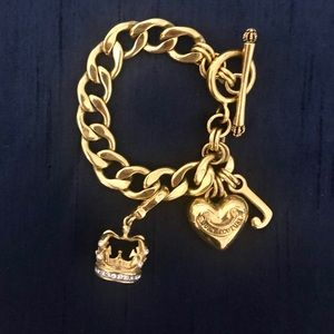 Juicy Couture Crown Charm Bracelet